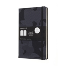 Moleskine Camouflage Black Limited Collection Notebook Large Ruled, Paperback Book