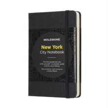Moleskine City Notebook New York Pocket Hard, Paperback Book