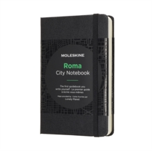 Moleskine City Notebook Rome Pocket Hard, Paperback Book