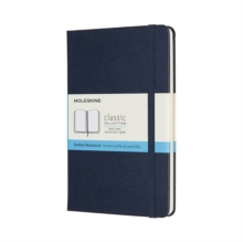 MEDIUM DOTTED HARDCOVER NOTEBOOK SAPPHIR, Hardback Book