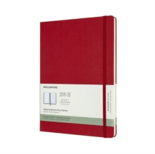 MOLESKINE 2020 18MONTH EXTRA LARGE WEEKL, Hardback Book