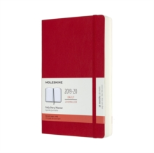 Moleskine 18 Month Daily Planner 2020 - Scarlet Red, Diary Book