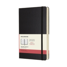 Moleskine 12-Month Daily Planner 2020 - Black, Diary Book