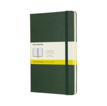 LARGE SQUARED HARDCOVER NOTEBOOK MYRTLE, Hardback Book