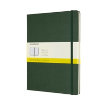 EXTRA LARGE SQUARED HARDCOVER NOTEBOOK M, Hardback Book