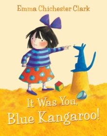 It Was You, Blue Kangaroo, Paperback Book