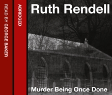 Murder Being Once Done, eAudiobook MP3 eaudioBook