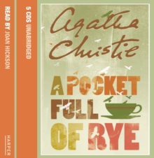 A Pocket Full of Rye, CD-Audio Book