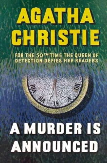 A Murder is Announced, Hardback Book