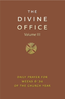 Divine Office Volume 3, Leather / fine binding Book