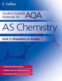 Student Support Materials for AQA : AS Chemistry Unit 1: Foundation Chemistry, Paperback Book