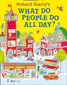 What Do People Do All Day?, Paperback Book