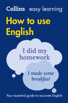 Easy Learning How to Use English, Paperback Book