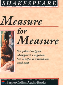 Measure for Measure, eAudiobook MP3 eaudioBook