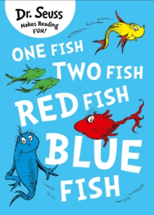 One Fish, Two Fish, Red Fish, Blue Fish, Paperback Book