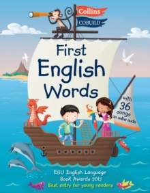 First English Words (Incl. audio CD) : Age 3-7, Paperback / softback Book
