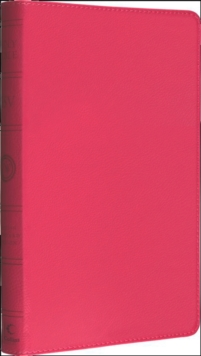 Holy Bible: English Standard Version (ESV) Anglicised Pink Thinline edition, Paperback / softback Book