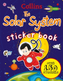 Collins Solar System Sticker Book, Paperback Book