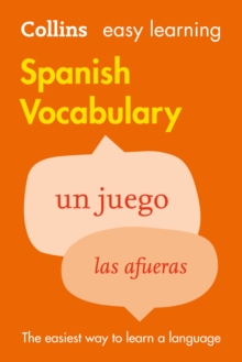 Easy Learning Spanish Vocabulary, Paperback Book