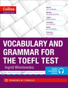Vocabulary and Grammar for the TOEFL Test, Mixed media product Book