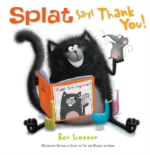 Splat Says Thank You!, Paperback Book