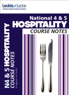 National 4/5 Hospitality Course Notes, Paperback / softback Book
