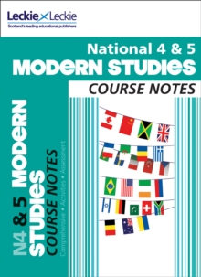 National 4/5 Modern Studies Course Notes, Paperback / softback Book
