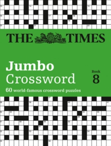 The Times 2 Jumbo Crossword Book 8 : 60 Large General-Knowledge Crossword Puzzles, Paperback / softback Book