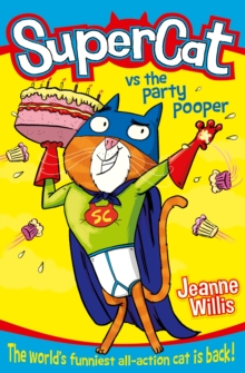 Supercat vs The Party Pooper, Paperback Book