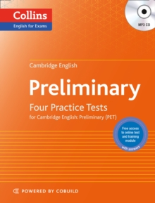 Practice Tests for Cambridge English: Preliminary : Pet, Paperback Book
