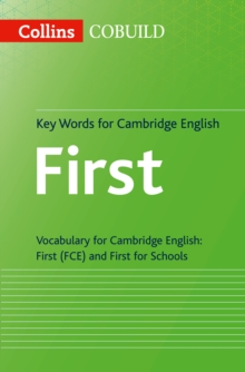Key Words for Cambridge English First : Fce, Paperback / softback Book