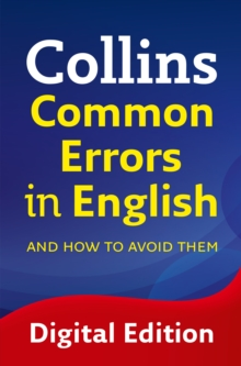 Collins Common Errors in English, EPUB eBook