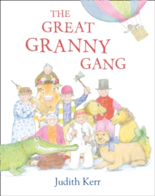 The Great Granny Gang, Mixed media product Book