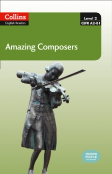 Amazing Composers : A2-B1, Mixed media product Book