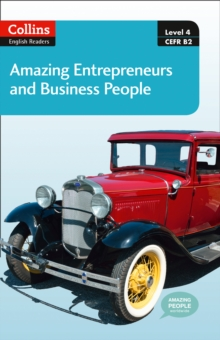 Amazing Entrepreneurs & Business People : B2, Mixed media product Book