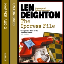 The Ipcress File, eAudiobook MP3 eaudioBook
