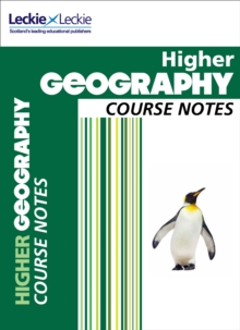 CfE Higher Geography Course Notes, Paperback / softback Book