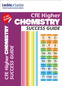 CfE Higher Chemistry Success Guide, Paperback Book