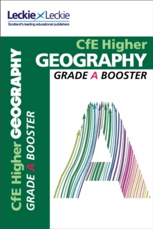 CfE Higher Geography Grade Booster, Paperback Book