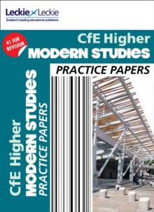 CfE Higher Modern Studies Practice Papers for SQA Exams, Paperback Book