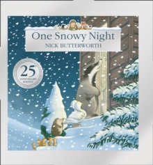 One Snowy Night (25th Anniversary Edition), Hardback Book