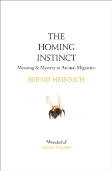 The Homing Instinct : Meaning and Mystery in Animal Migration, Paperback / softback Book