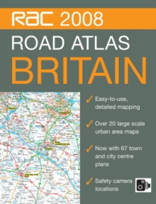 RAC Road Atlas Britain, Spiral bound Book
