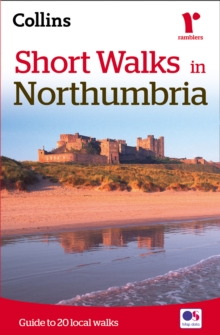 Short Walks in Northumbria, Paperback / softback Book