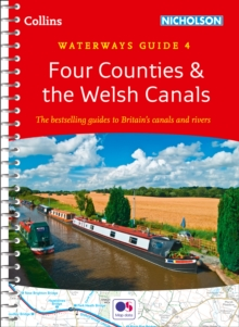 Four Counties & the Welsh Canals No. 4, Spiral bound Book