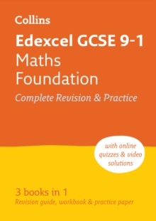 Edexcel GCSE 9-1 Maths Foundation All-in-One Revision and Practice, Paperback / softback Book