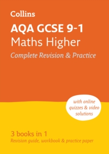 AQA GCSE 9-1 Maths Higher All-in-One Complete Revision and Practice : Ideal for Home Learning, 2021 Assessments and 2022 Exams, Paperback / softback Book