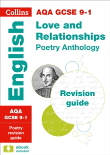 AQA GCSE 9-1 Poetry Anthology: Love and Relationships Revision Guide, Paperback / softback Book