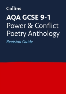 AQA GCSE Poetry Anthology: Power and Conflict Revision Guide, Paperback Book