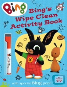 Bing's Wipe Clean Activity Book, Paperback Book